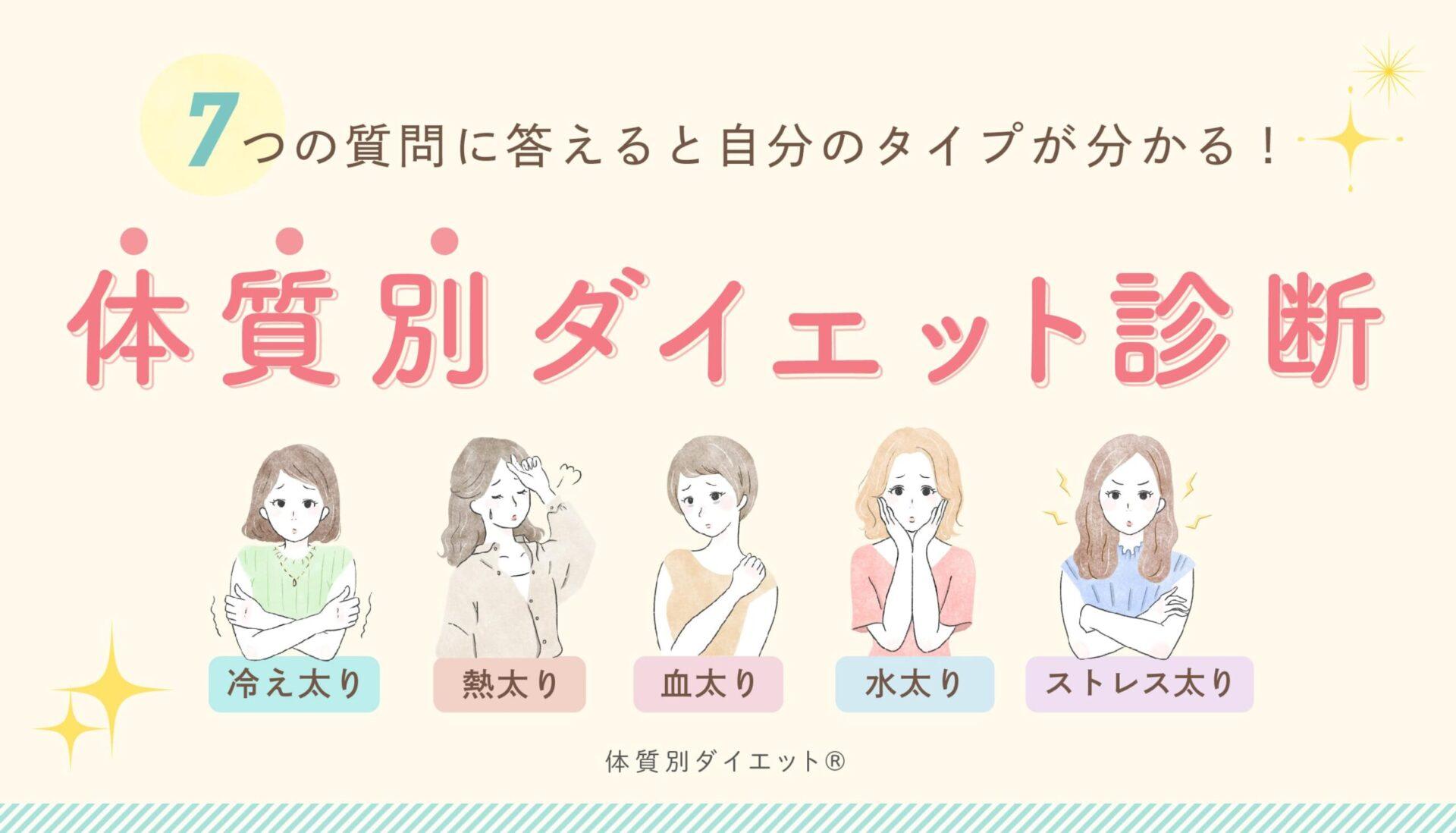 体質別®ダイエット|LINE&ヘッダー画像